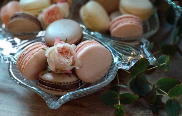 Detalle macarons boda